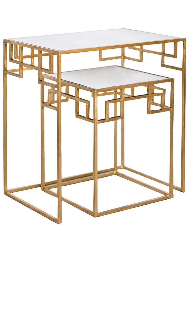 InStyle Decor Side Table Designs Modern Tables Contemporary Gold TableLiving Room TablesNesting