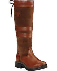 Ariat Womens Chestnut Braemar GTX English Boots, Brown