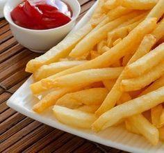 Receitas de microondas - batata frita