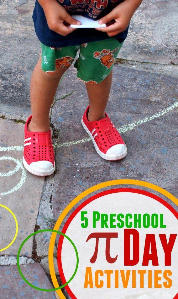 Pink Stripey Socks: 5 Preschool Pi Day Activities