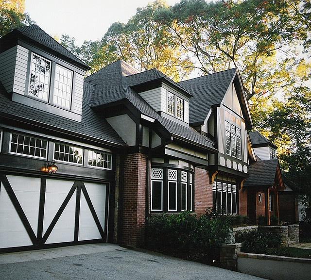Atlanta Bungalow Renovation: Ranch To Tudor Conversion Http://www.homerebuilders.com