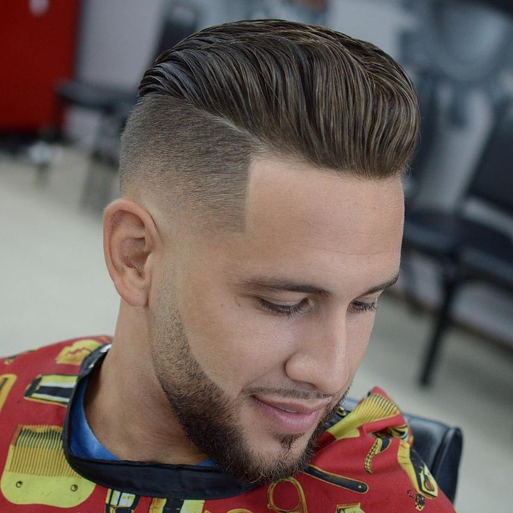 Cool Men S Hairstyles With Beards The Fauxhawk Aka Fohawk Haircut