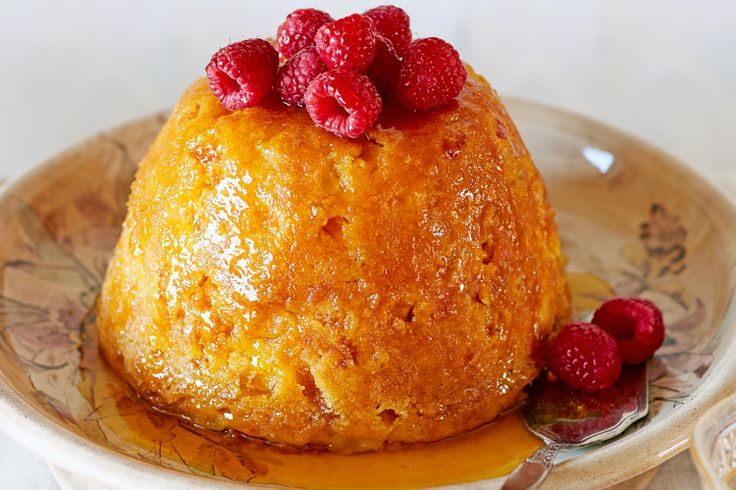 Your family will devour Curtis Stone's tasty orange-infused pudding.