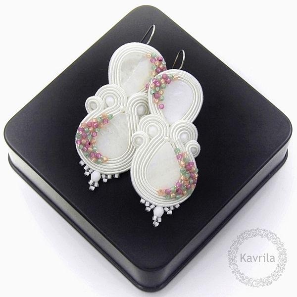 Kavrila - biżuteria autorska . sutasz . soutache: Candy sweet soutache