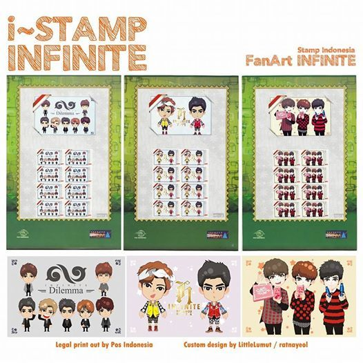 i-STAMP INFINITE from Pos Indonesia PRISMA