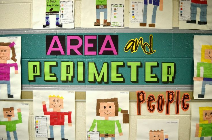 Area and Perimeter People, this is a 3rd grade classroom ...