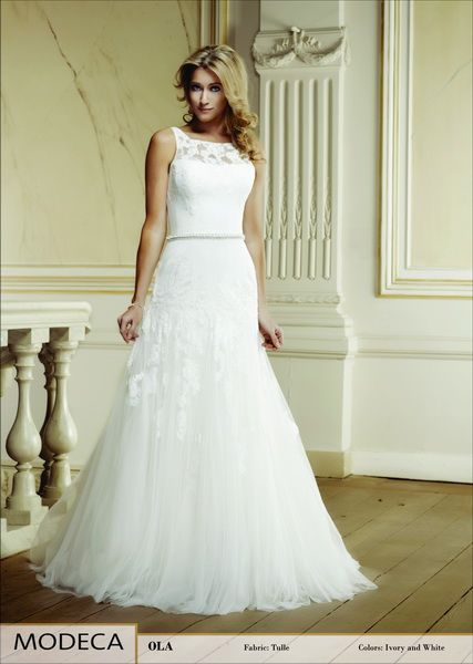Modeca wedding dress collection 2014 - Ola