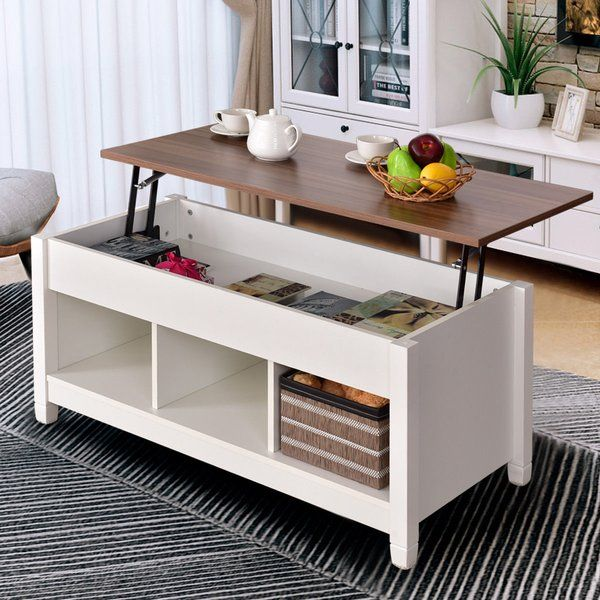 Alina Lift Top Coffee Table With Storage Convertible Furniture Coffee Table With Storage Coffee Table With Hidden Storage