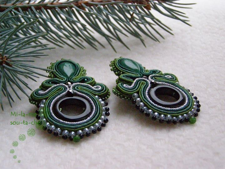 Sutache earrings