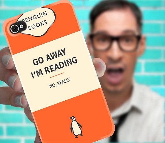 Penguin Book Phone Cover : Best case studies cover up those iproducts images on