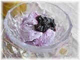 ブルーベリージャムと牛乳で!手作りアイスクリーム☆ レシピ・作り方 by はなまる子♪|楽天レシピ