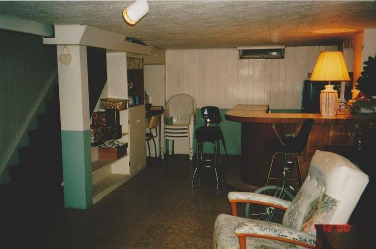 74 best basement images on pinterest mid century modern for Retro basement ideas