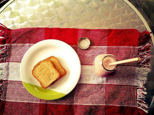 Smoothie de Morango, Iogurte e Coco