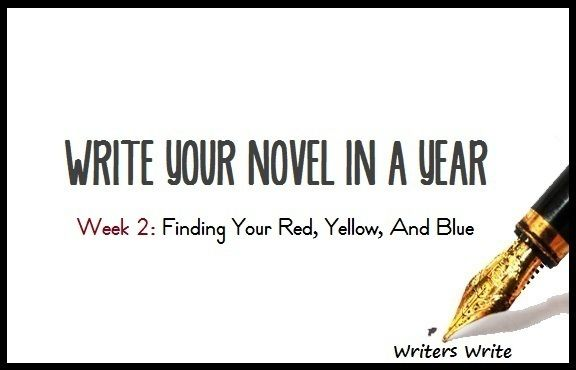 Write Your Novel In A Year - Week 2