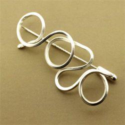 Ballyquinn brooch pin sterling silver ardmore jewellery 5