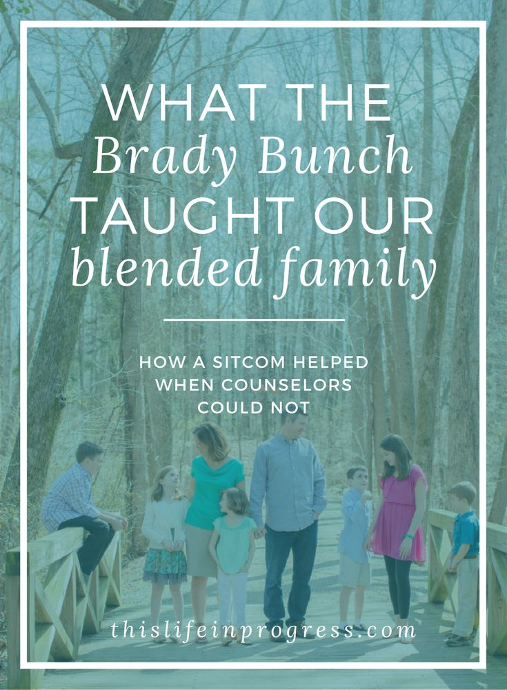 Winning | Stepfamily | Blended family | Six Kids | Brady Bunch | How To Blend Family | Second Marriage | Stepfamily Support | Big Family via @Kate Chapman | Stepparent + Blended Family Support