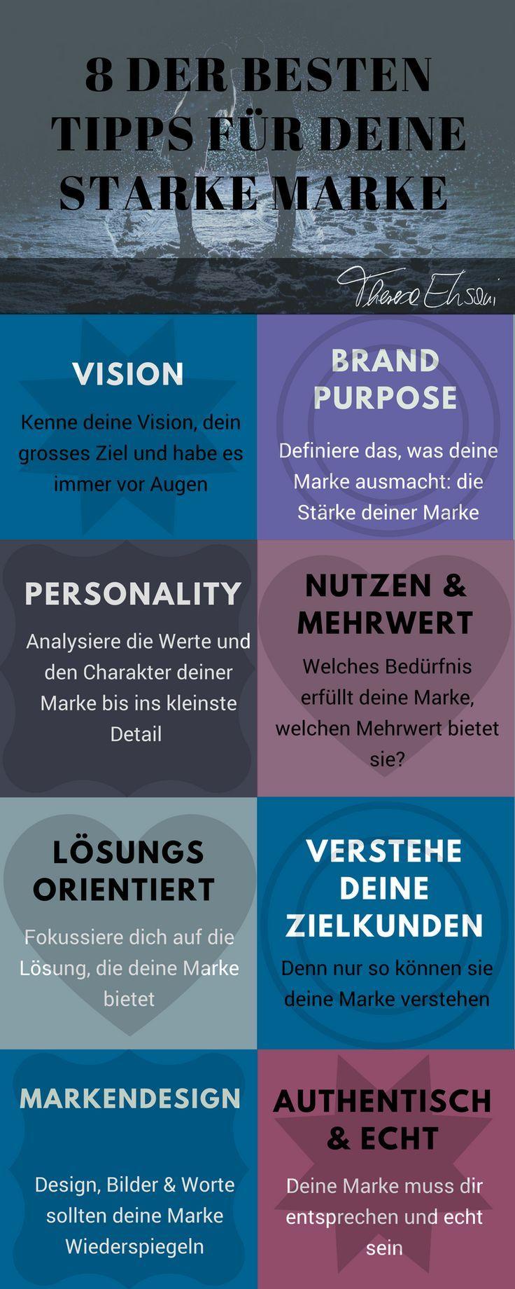 Markenentwicklung und Branding: die wichtigsten Tipps für deine Starke Marke, die dir mehr Sichtbarkeit und Erfolg bringen.