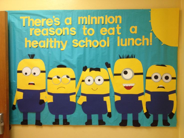 Image result for lunchroom bulletin boards