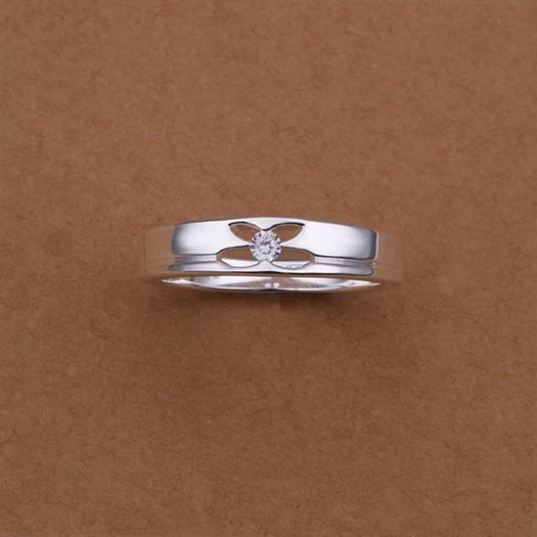Кольца посеребренная ювелирных изделий кольца 925 мычка изысканный современные женщины мода симпатичный кольцо wggg LSR244