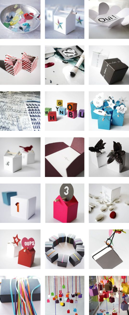 personalised boxes - Juliette Barbier