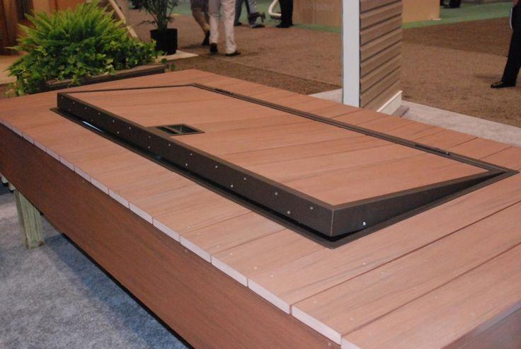 Azek indeck storage kit safely stores outdoor furniture