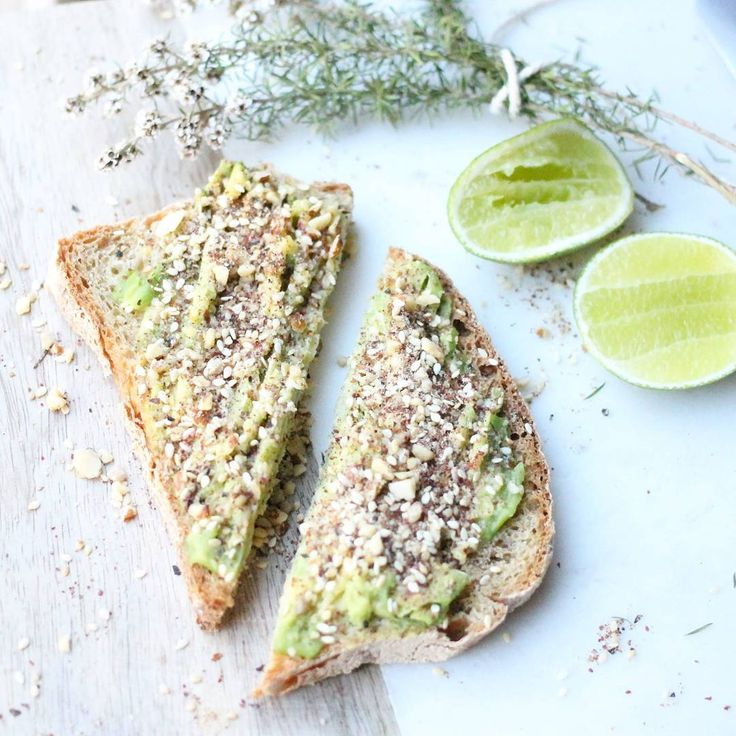Just a simple avocado toast with Dukkah!