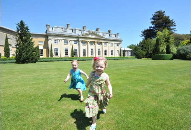 The Ickworth hotel in Suffolk has acres of gardens and parkland for playing, running and cycling | smithandfamily.co.uk
