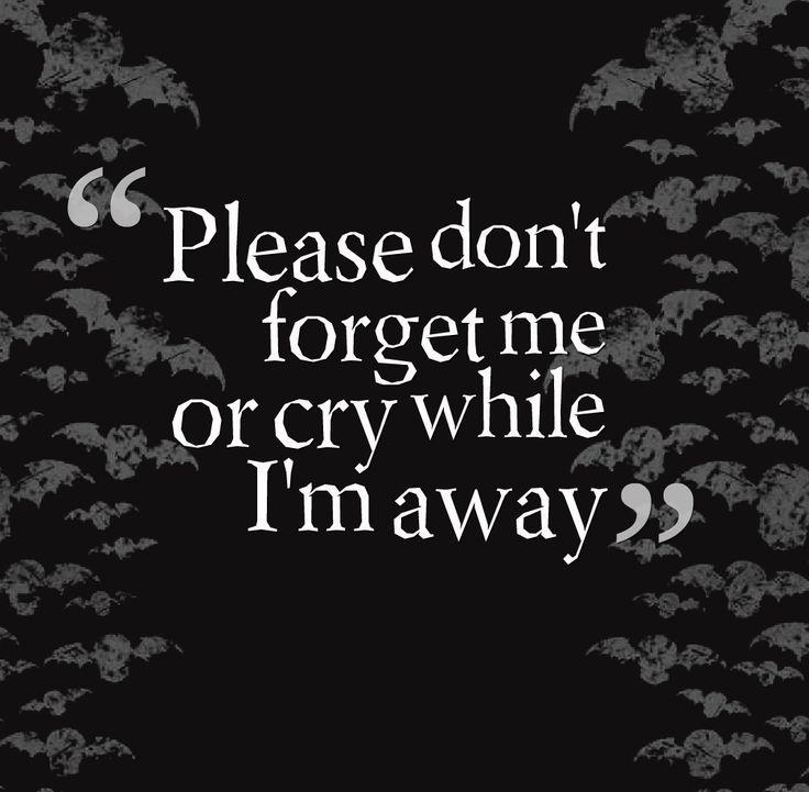 Avenged Sevenfold I Won't See You Tonight Part 1 LYRICS ...