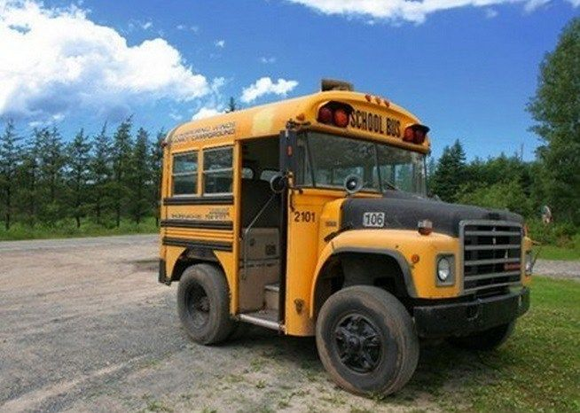 Top 10 Crazy And Unusual Yellow School Buses Short Bus Trucks