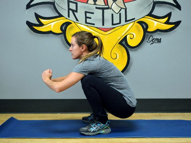 упражнения для развития гибкости: упражнение 2