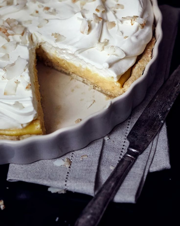 Lemon Coconut Cream Pie
