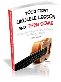 Free Ukulele lessons PDF...this is how I got started playing my ukulele.  You can do it too!