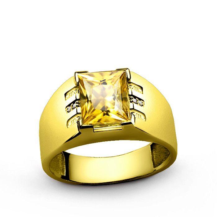 230 best Gold Rings images on Pinterest | Mens gemstone rings ...