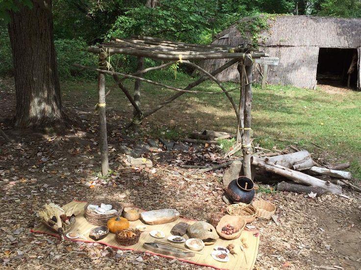 Churchville Nature Center Lenape Village
