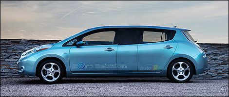 2012 Nissan Leaf Limo