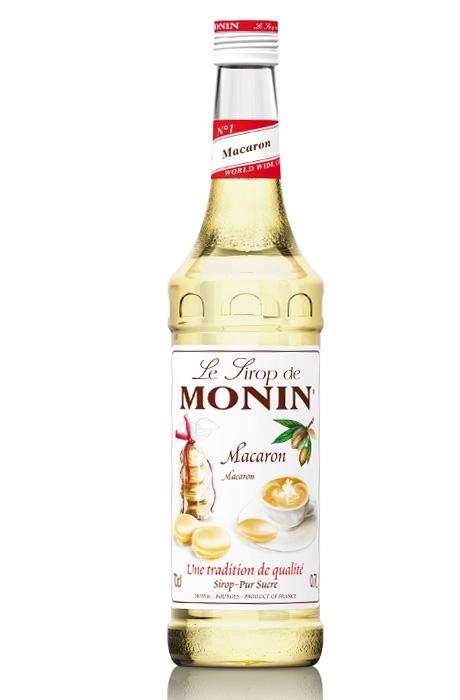 Monin Macaron Siroop voor in je koffie!