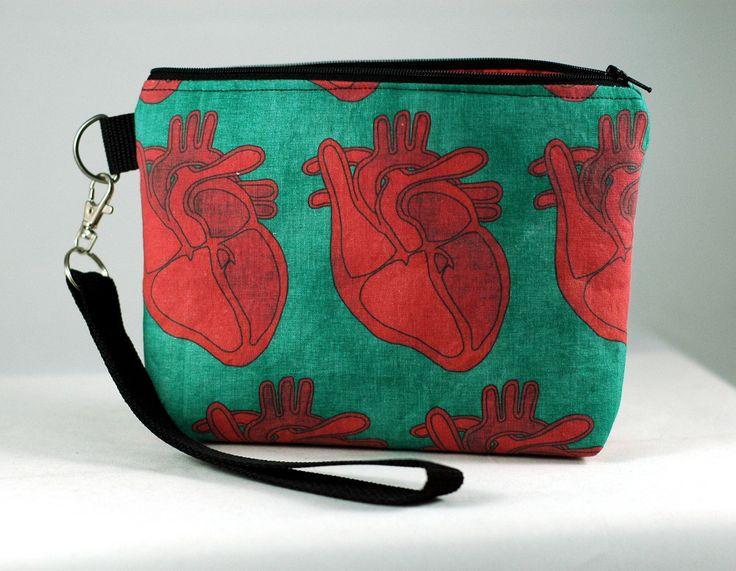 Anatomical Heart Wristlet