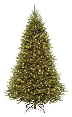 National Tree 75 Foot Kingswood Fir Tree with 500 Dual Color LED Lights and PowerConnect 9 Function System Hinged KW7D5375 ** Read more reviews of the product by visiting the link on the image.