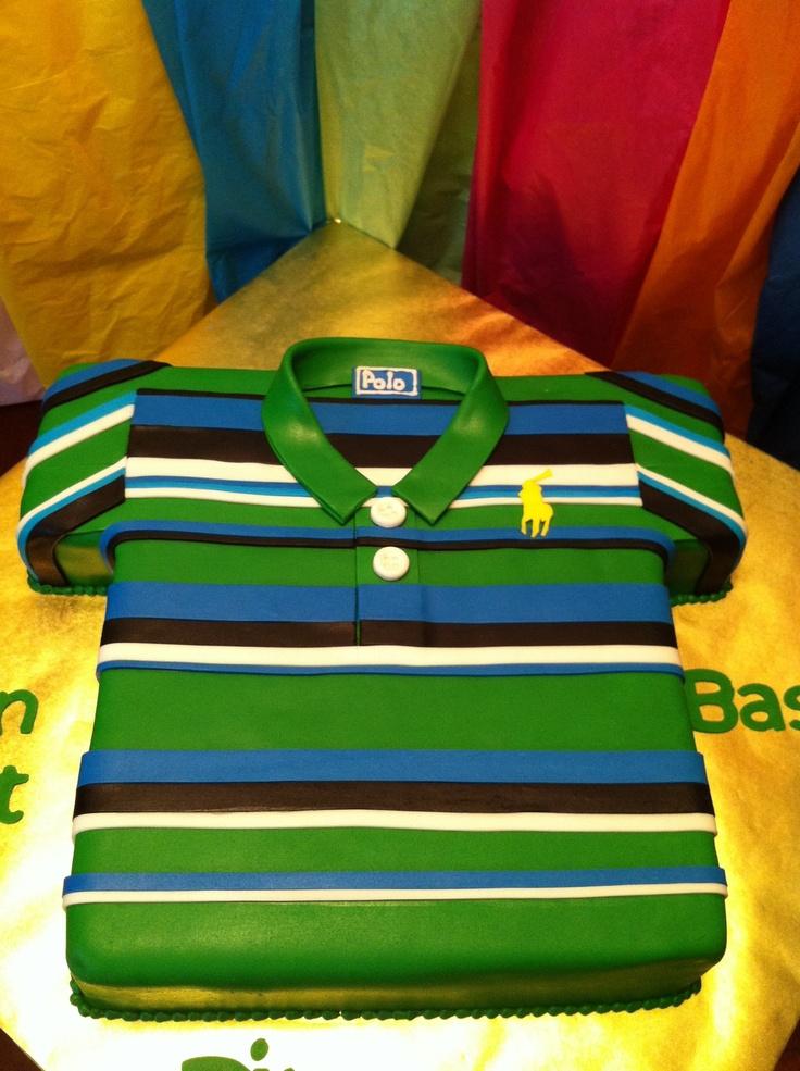 Cake Polo Shirt Design : Polo Shirt Cake polo shirt cakes/name brand cakes ...