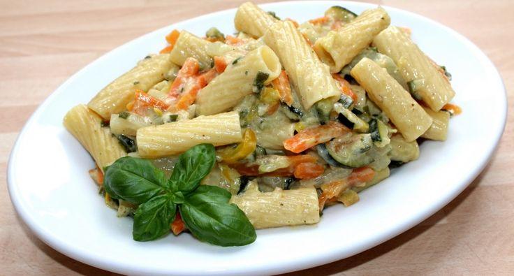 Egyedényes zöldséges tészta recept