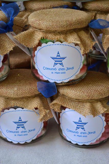 LOS DETALLES DE BEA: Primera comunión de Jordi