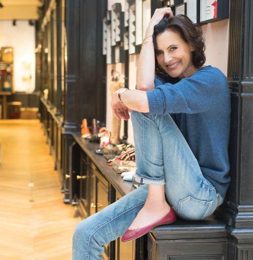 10 best images about ines de la fressange on pinterest blazers parisians and white jeans. Black Bedroom Furniture Sets. Home Design Ideas