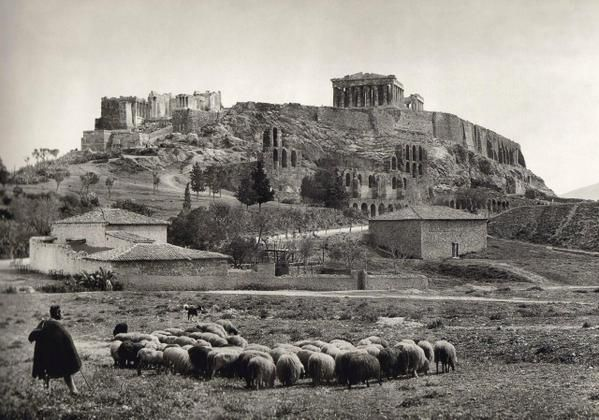 The Acropolis at Athens, 1900