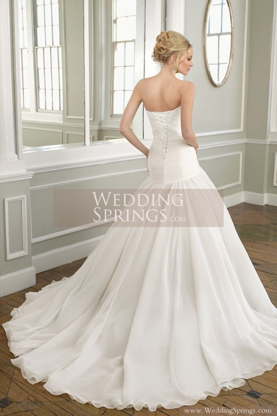 drop waist.......................Wedding Dress Style ML0005 Mori Lee Wedding dresses Designer Wedding Dresses from WeddingSprings