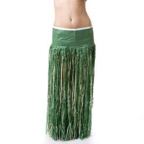 Из чего делается гавайская юбка