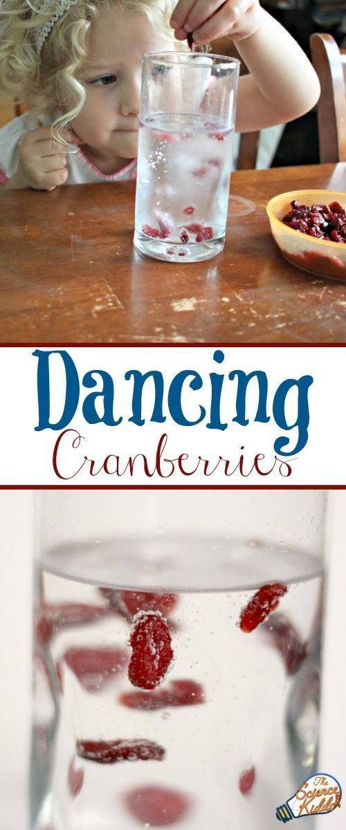 This science activity for kids is so simple, easy to do, and absolutely fascinating to watch! Plus, I let the kids eat the lemon lime infused cranberries at the end, so they got a yummy snack, too!