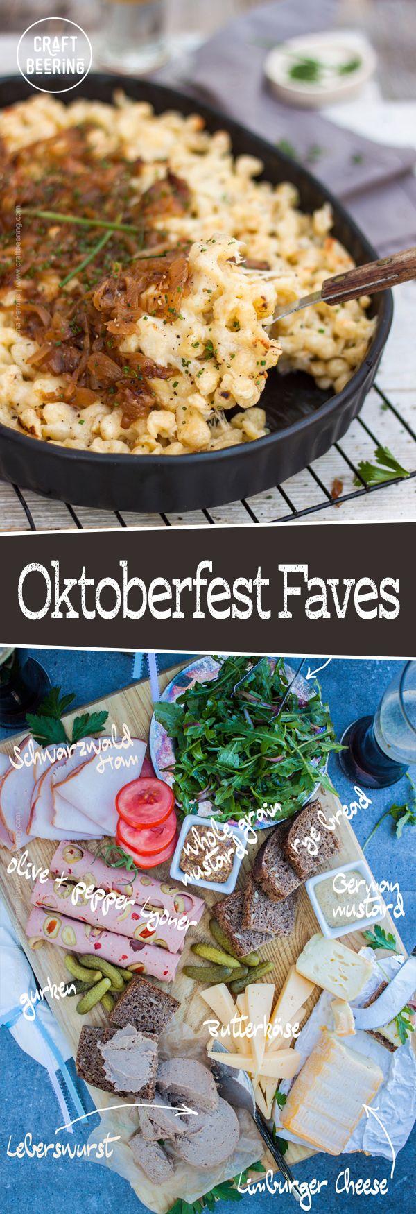 Beer Garden Menu Oktoberfest food, International recipes