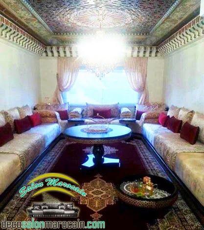 Salon Marocain De Haute Gamme Exclusif Pour Les Personnes