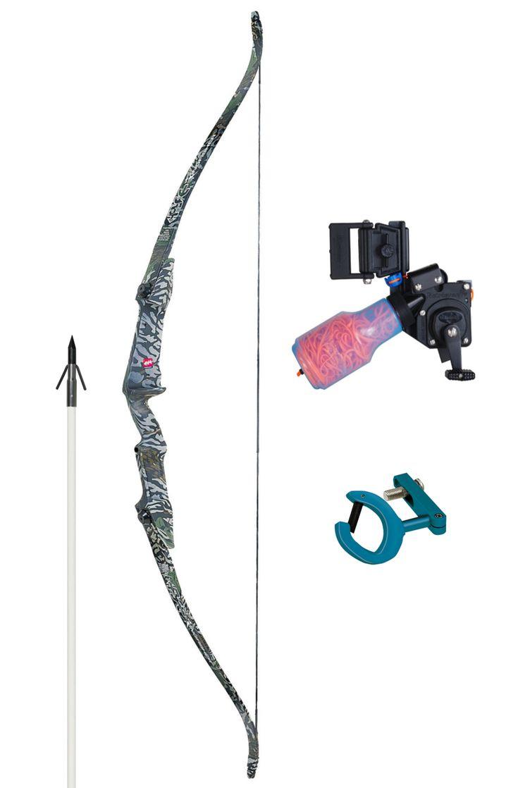 PSE Kingfisher Bowfishing Bow Pro Set with AMS Pro Retriever Reel $243