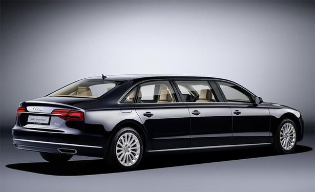 Audi A8L Extended: A 6 Door Limousine